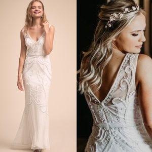 BHLDN Beaded Sorrento Wedding Dress